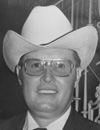 Charles Cumberlin, 1978 World Champion Livestock Auctioneer, 1989 Colorado Auctioneer Hall of Fame