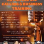 Advanced bid calling flyer