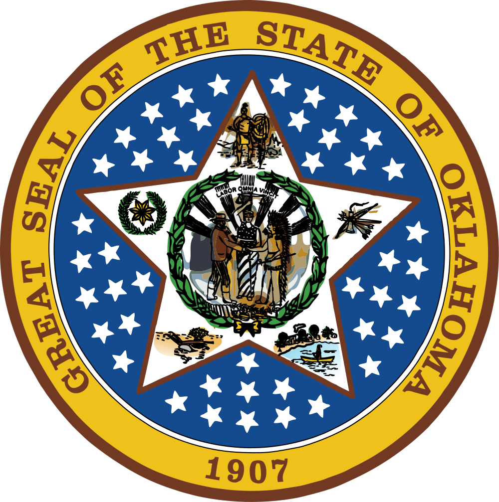 Great Seal of the State of Oklahoma