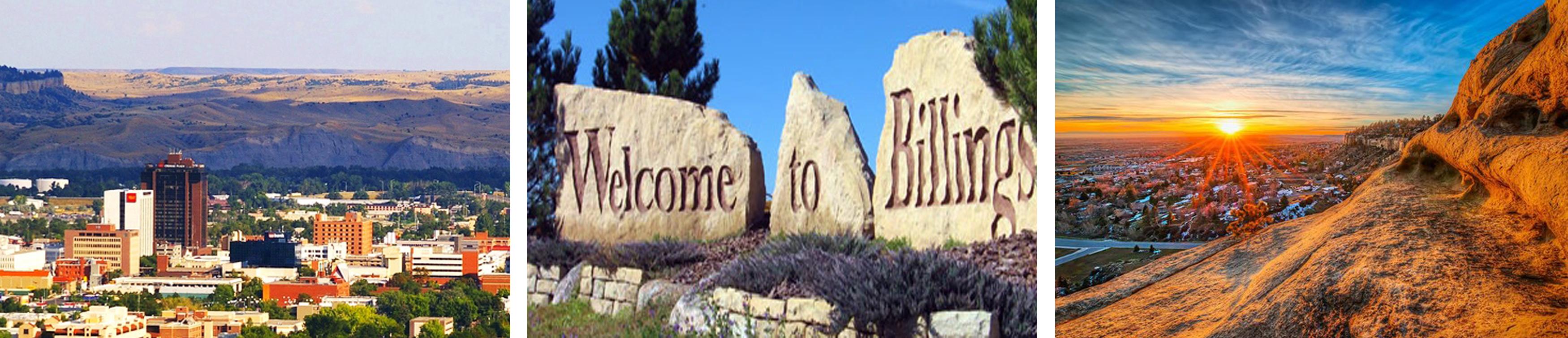 Views of Billings, MT