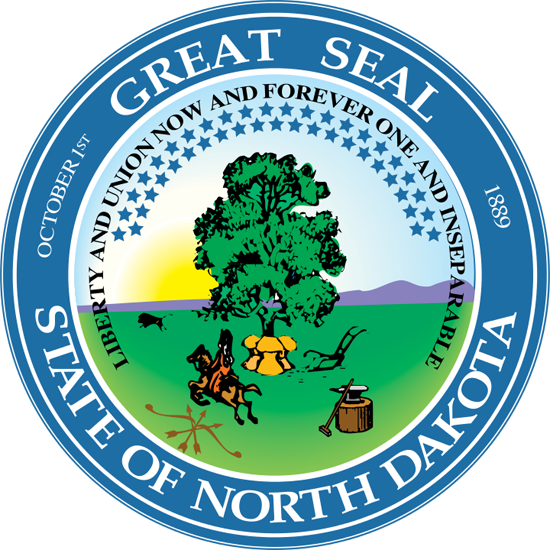 Great Seal of the State of North Dakota