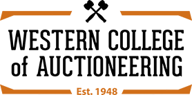 Western College of Auctioneers logo