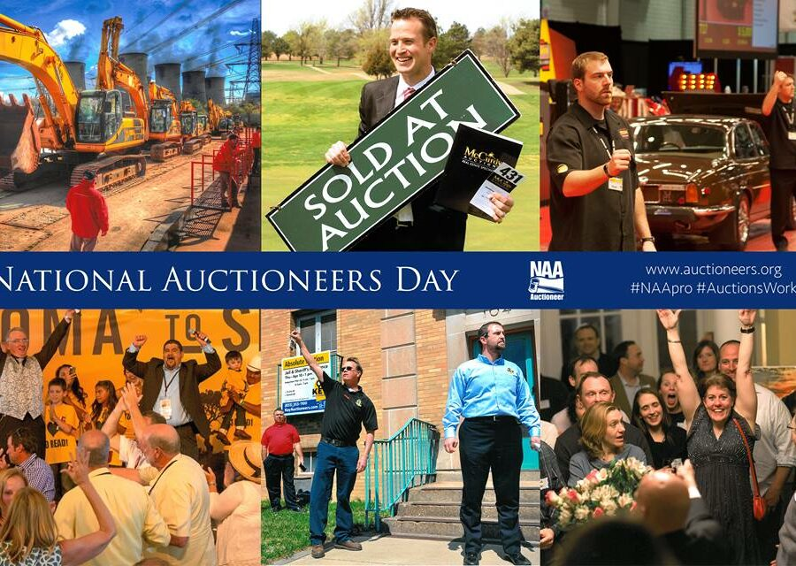 National Auctioneers Week, a huge success!
