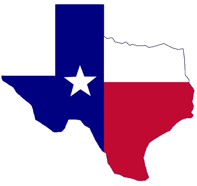 State Flag & Map of Texas