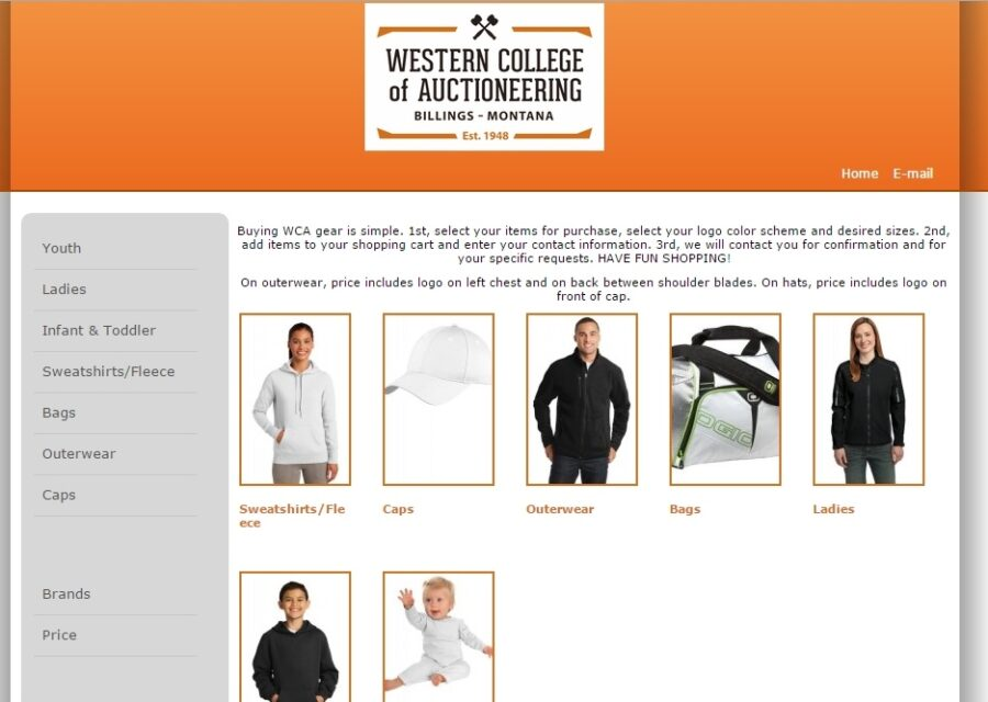 WCA Apparel now available!