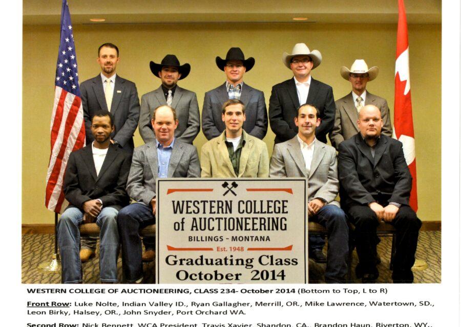 October 2014 Graduates