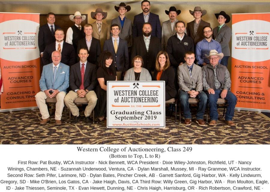 WCA Graduates Class 249