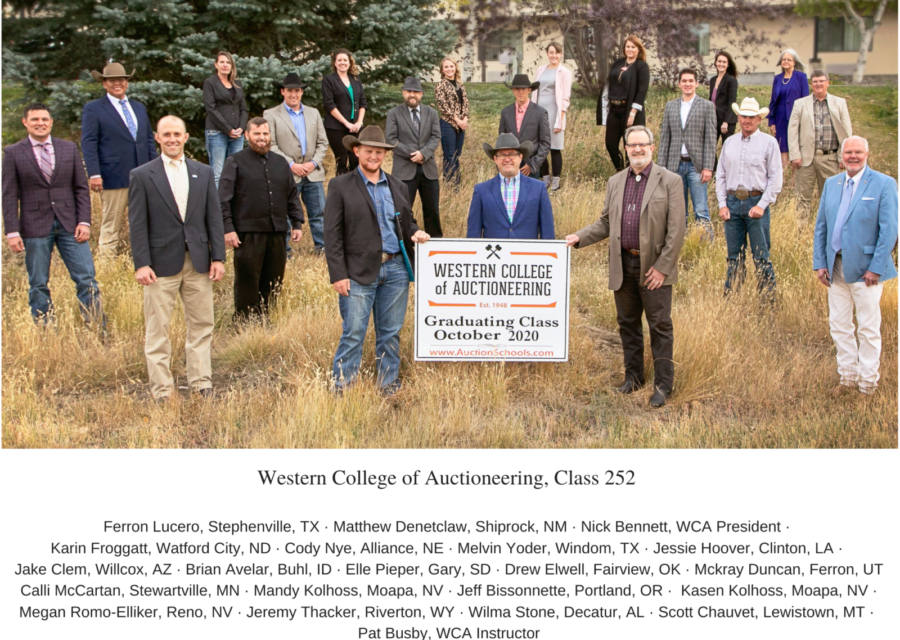 WCA Class 252 Completes Live Training