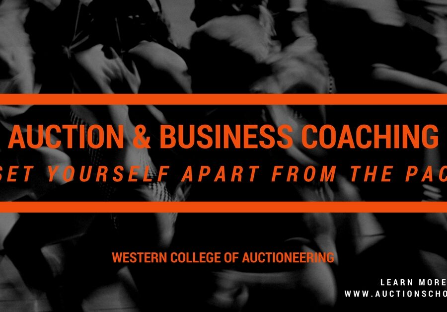 NOW OFFERING AUCTION & BUSINESS CONSULTING